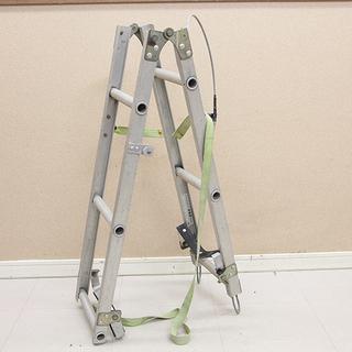 ナカオ 昇柱用具 特殊梯子 折りたたみ式 電柱ハシゴ 電気工事 ...