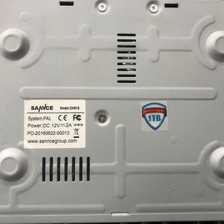 SANNCE 4chデジタルレコーダー 1080P 防犯カメラ最...