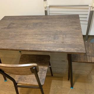 ダイニングテーブル&椅子2脚