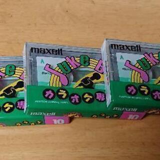[追加]カセットテープ  maxell,TDK,SONY