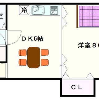 【エイチ・ツー・オー大国町】2号タイプ!1DKタイプ!抜群の広さ...
