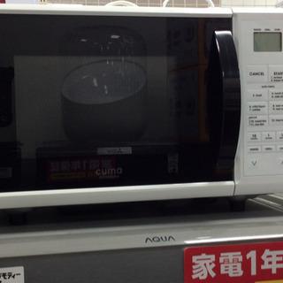 電子レンジ cuma CM–MR205–WH