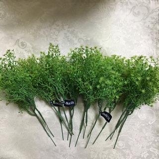 グリーン造花 1
