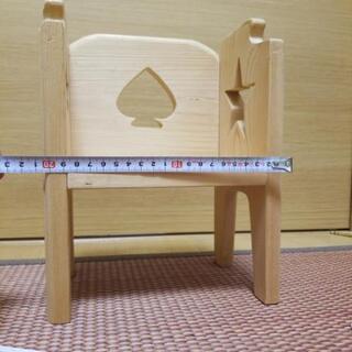 小物置き 小さい椅子