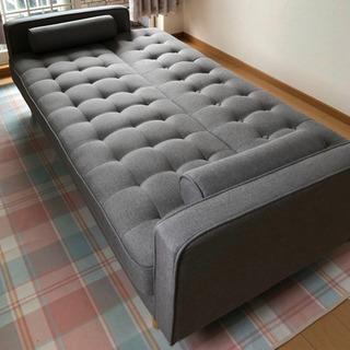 🌸美品 ニトリ シックで上品なソファベッド