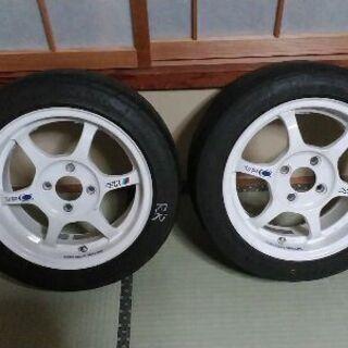 【最終値下げ!】SSR type-C 14インチタイヤアルミホイ...