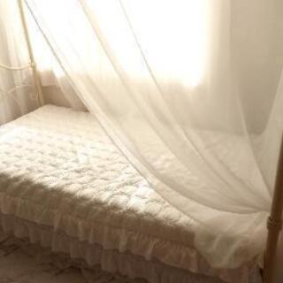 【決まりました】天蓋付きベッド