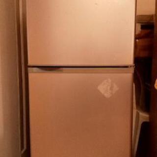 10年以上前の冷蔵庫ですがわりと綺麗です