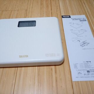 【中古品】TANITA 体重計
