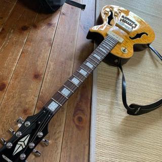 最終値下げ 絶版 美品 ホロウ エレキギター プレイテック