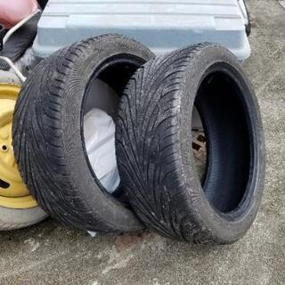 中古タイヤ 205/45R16 2本 値下げ