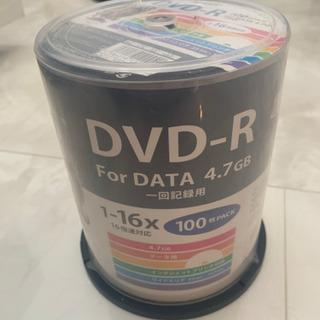 DVD-R 100枚入り