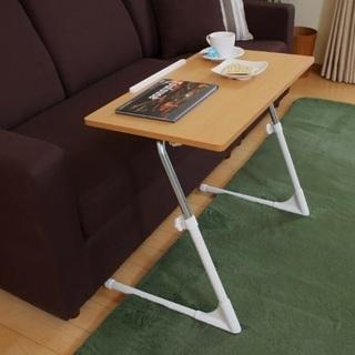 座椅子専用デスク 昇降式テーブル 折りたたみ可能 角度調節可能
