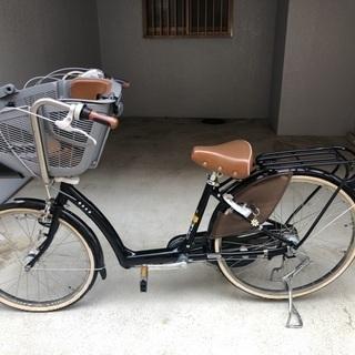 ブリジストン  子供乗せ自転車  アンジェリーノ 黒 非電動