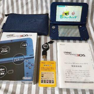 美品! NEW ニンテンドー 3DSLL ブルー