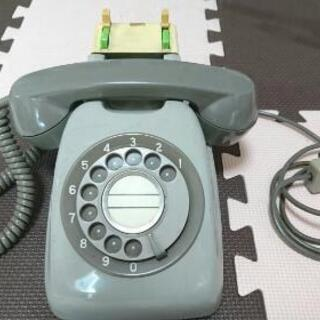 日立製作所 650-A1 ダイヤル式電話