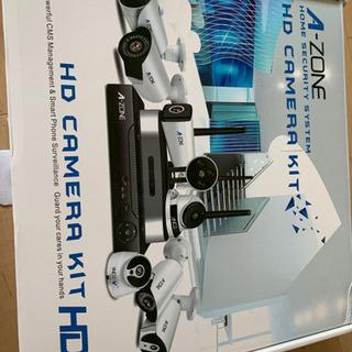 A-ZONE 200万画素タイプ 防犯カメラキット  4CHレコ...