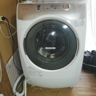 値引き交渉あり ドラム式洗濯機 ヒートポンプで節電乾燥機能