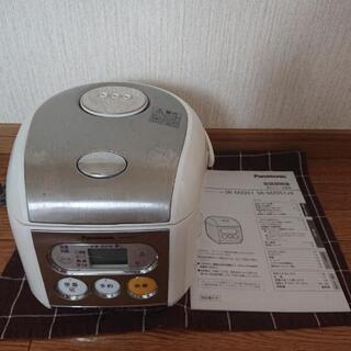 【取扱説明書あり】電子ジャー炊飯器SR-MZ0510.54Lタイ...