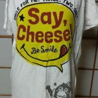 ハートマーケットシャツ  L