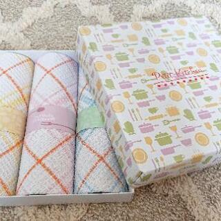 キッチンクロス3枚組 ワッフル素材