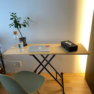 【値下げ】センターテーブル (昇降式)天板DIYできます!