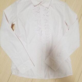 jetsetter super fabric■胸元フリルシャツ M