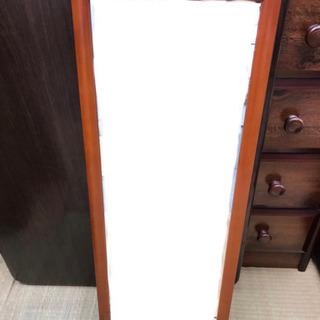 鏡 壁掛け 姿見 木製フレーム
