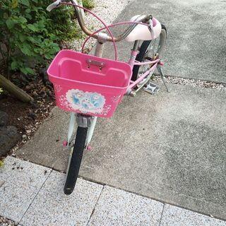 女の子 自転車 状態悪い
