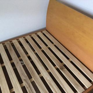 セミダブル ベッド シミあり 0円