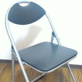 折りたたみ椅子、パイプ椅子②700円