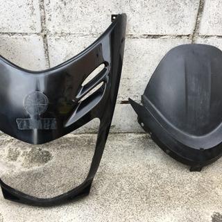 マジェスティ125fi フロントマスク、メーターパネルカバー