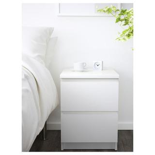 IKEA MALM マルム チェスト ホワイト 40x55 cm