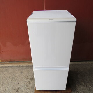 【動作確認済】シャープ 2ドア冷蔵庫 2014年製 SJ-D14...