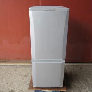 【動作確認済】三菱 2ドア冷蔵庫 2013年製 MR-P15X-...