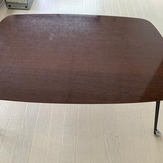 ブラウン ローテーブル