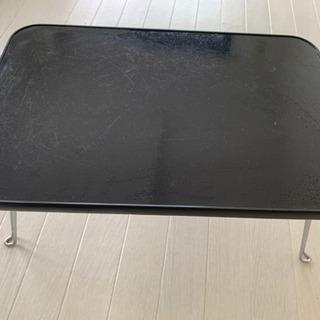 ミニテーブル ブラック