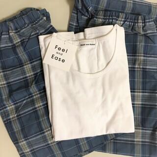 ◆レディース部屋着★Tシャツ&短パン&パンツ(Mサイズ) 3点セ...