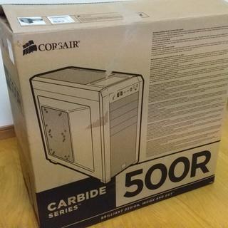 自作用パソコンケース(ATX)コルセアCARBIDE500R
