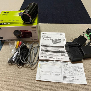 JVC everio GZ-E50 デジタルビデオカメラ オマケ付き