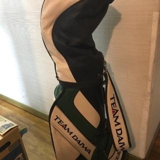 ゴルフクラブのセットです。