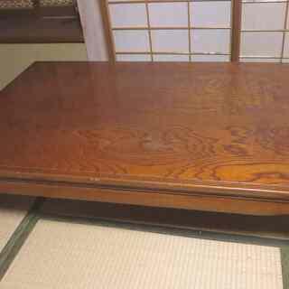 本猫脚の座卓