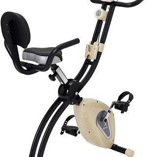 ALINCO(アルインコ) フィットネスバイク 折りたたみ機能付...