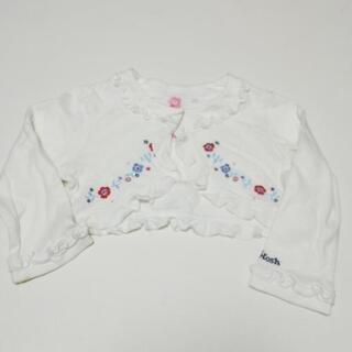 子供服 女の子 90サイズ 長袖 カーディガン 花刺繍 OshKosh
