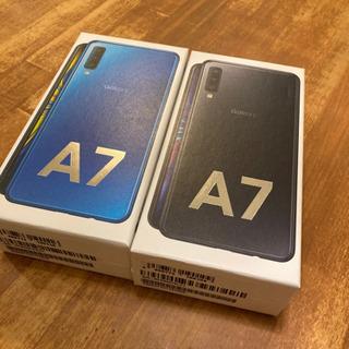 Galaxy A7 ブラック 64GB SIMフリー 2台セット