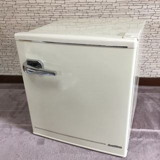 A-Stage エスキュービズム 1ドア レトロ冷蔵庫 48L ...