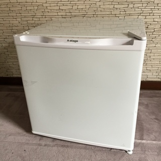 A-Stage AS-46W 1ドア冷蔵庫46L (ホワイト)