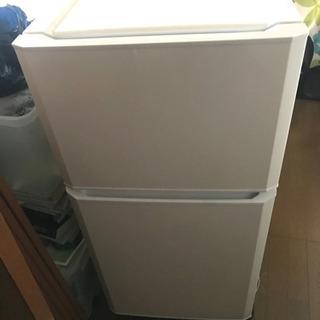 取りに来てたら更に大幅値下げハイアール 106L 2ドア冷蔵庫