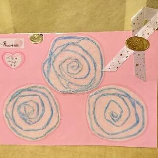 薔薇のコースター 3p