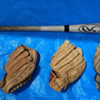 野球バットグローブセット